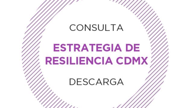 Estrategia de Resiliencia CDMX